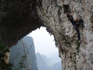 climbing in yanshuo